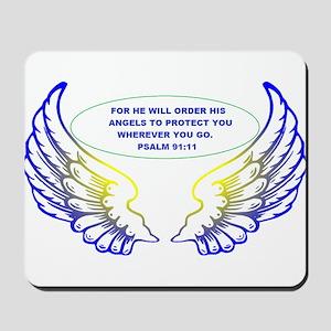 Angel Wings Mousepad