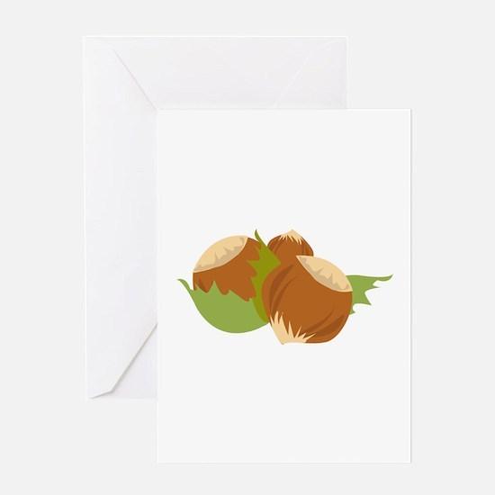 Hazelnuts Greeting Cards