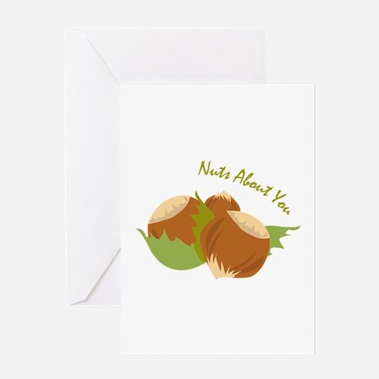 Nuts About You Greeting Cards