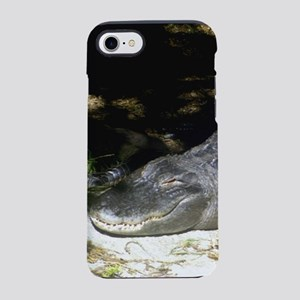 Alligator Sunbathing iPhone 7 Tough Case