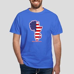 Afrika America Dark T-Shirt