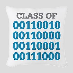 Class Of Woven Throw Pillow