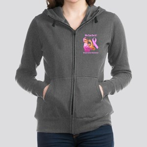 Breast Cancer Awareness Women's Zip Hoodie