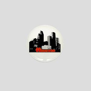 Houston Skyline Mini Button