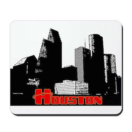 Houston Skyline Mousepad