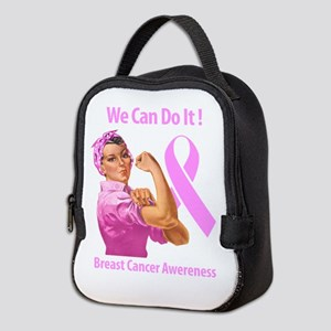 Breast Cancer Awareness Neoprene Lunch Bag