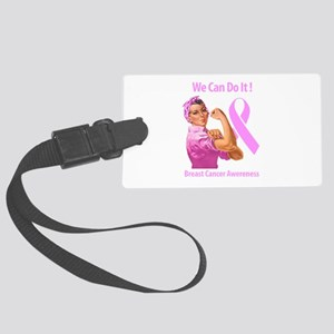 Breast Cancer Awareness Luggage Tag