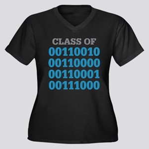 Class Of 2018 Plus Size T-Shirt