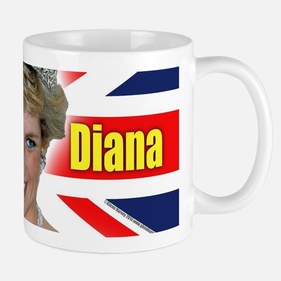 HRH Princess Diana Pro Photo Mugs