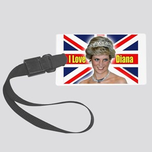 HRH Princess Diana Pro Photo Large Luggage Tag