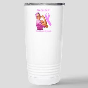 Breast Cancer Awareness Travel Mug