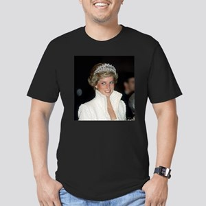 Iconic! HRH Princess D Men's Fitted T-Shirt (dark)