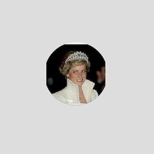 Iconic! HRH Princess Diana Mini Button