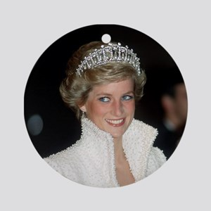 Iconic! HRH Princess Diana Ornament (Round)