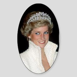 Iconic! HRH Princess Diana Sticker (Oval)
