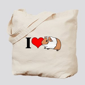 I (Heart) Guinea Pigs! Tote Bag