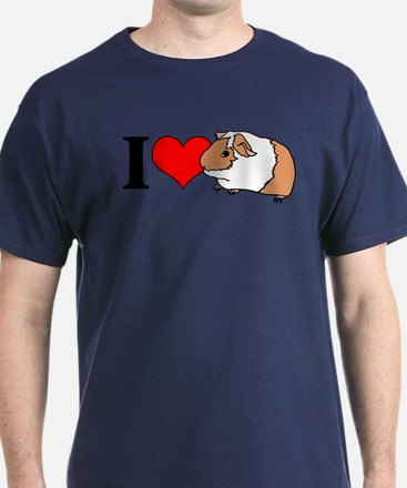 I (Heart) Guinea Pigs! T-Shirt