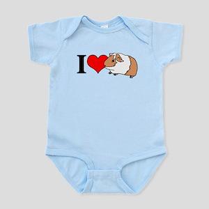 I (Heart) Guinea Pigs! Infant Bodysuit