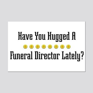 Hugged Funeral Director Mini Poster Print