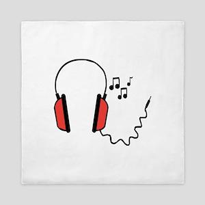 Musical Headphones Queen Duvet
