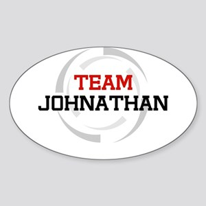 Johnathan Oval Sticker