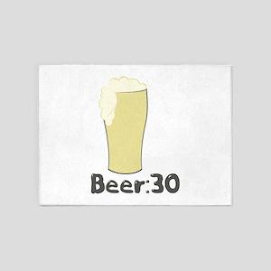 Beer:30 5'x7'Area Rug