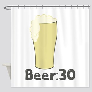 Beer:30 Shower Curtain