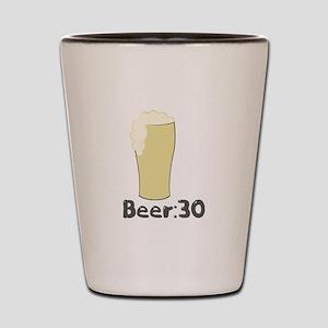 Beer:30 Shot Glass