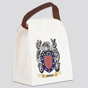 Rimer Coat of Arms - Family Crest Canvas Lunch Bag