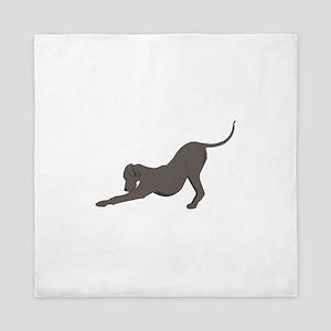 Dog Bow Queen Duvet