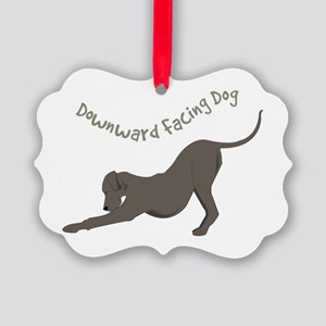 Downward Dog Ornament