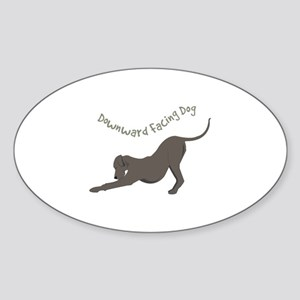 Downward Dog Sticker
