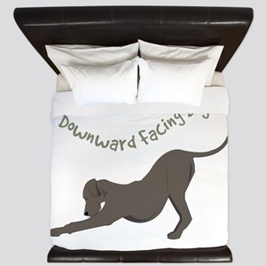 Downward Dog King Duvet