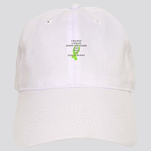 Cancer Bully (Lime Green Ribbon) Baseball Cap