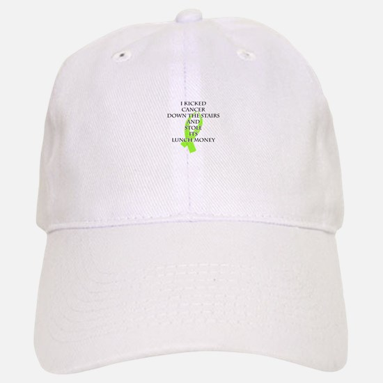 Cancer Bully (Lime Green Ribbon) Baseball Baseball Baseball Cap