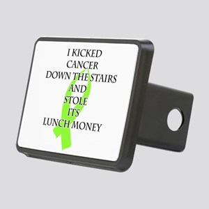 Cancer Bully (Lime Green Ribbon) Hitch Cover
