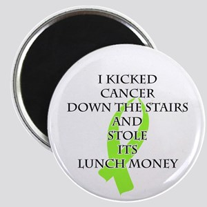 Cancer Bully (Lime Green Ribbon) Magnets