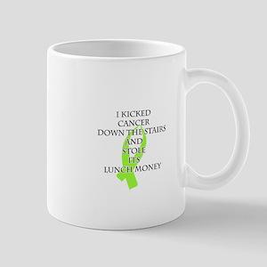 Cancer Bully (Lime Green Ribbon) Mugs
