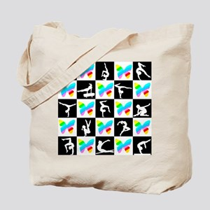 GRACEFUL GYMNAST Tote Bag