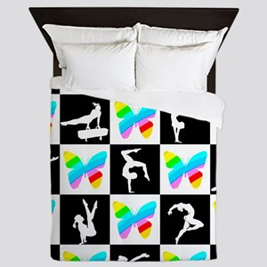 GRACEFUL GYMNAST Queen Duvet