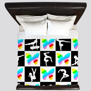 GRACEFUL GYMNAST King Duvet