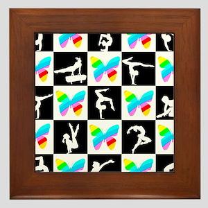 GRACEFUL GYMNAST Framed Tile