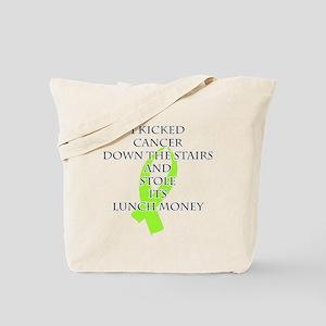 Cancer Bully (Lime Green Ribbon) Tote Bag