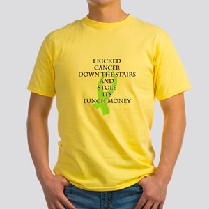 Cancer Bully (Lime Green Ribbon) T-Shirt