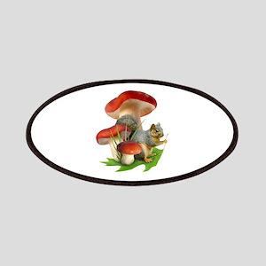 Mushroom Squirrel Patches