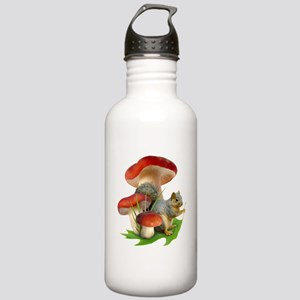 Mushroom Squirrel Stainless Water Bottle 1.0L