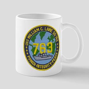 USS WILLIAM C. LAWE Mug