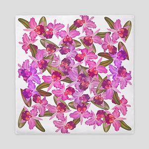 Orchid Flowers Queen Duvet