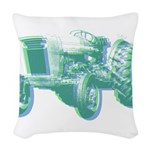 Tractor Factor Woven Throw Pillow
