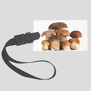 Boletus Edulis mushroom Large Luggage Tag